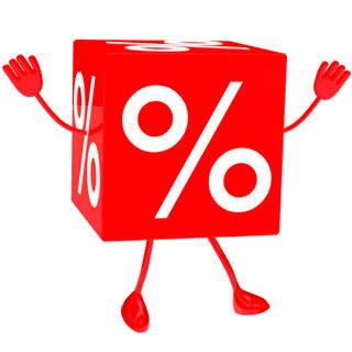 Кубик, процент, руки